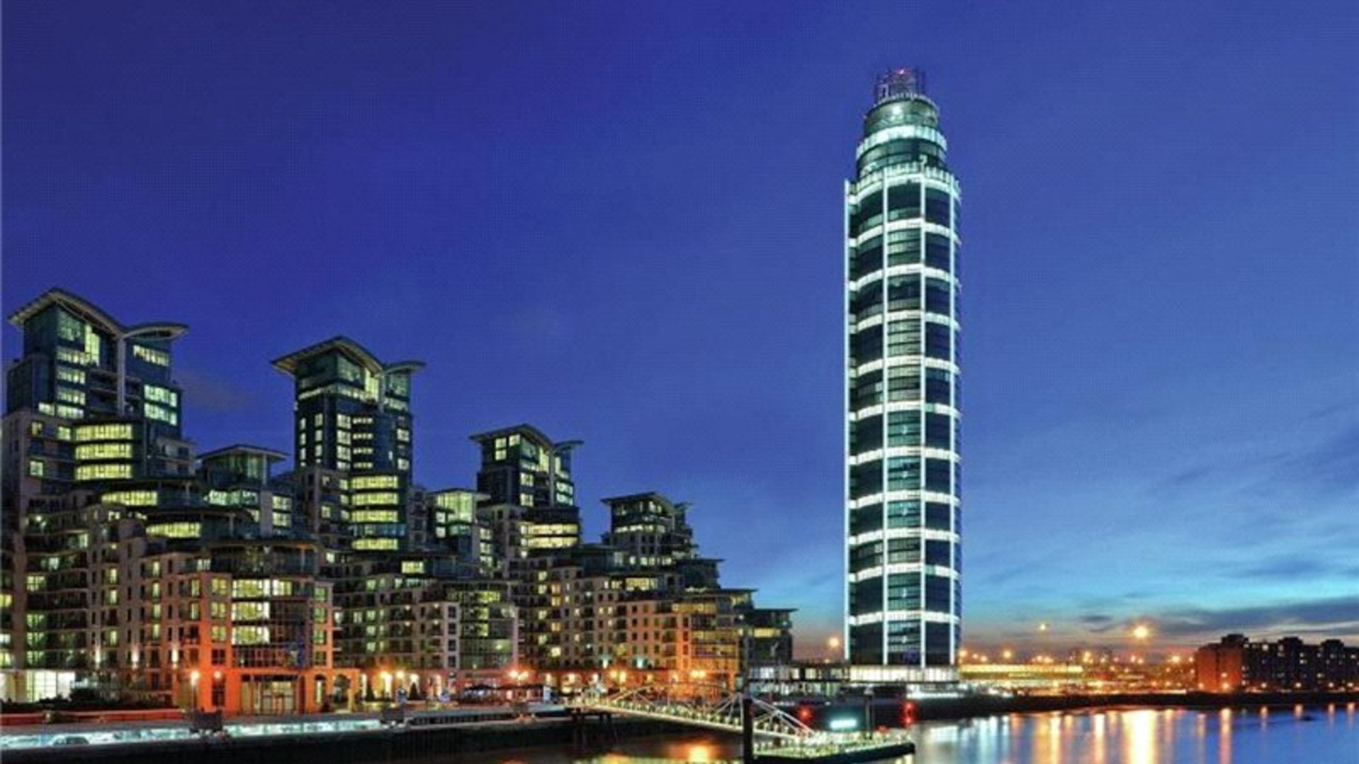 The Tower, One St George Wharf, London