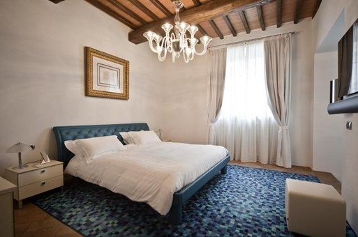 Master Apartment, Strozzi Castle, Sienna