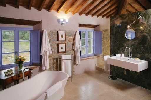 Restored Farmhouses, Near Siena, Italy