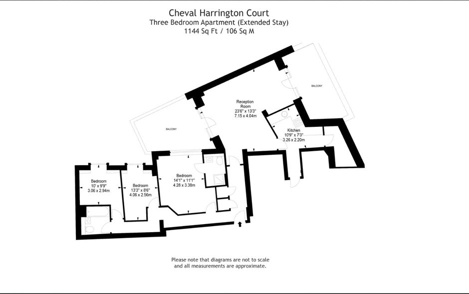 Cheval Harrington Court, 13 Harrington Rd, South Kensington